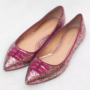 Anthropologie Pilcro Skipperdee Pointed Toe Flats